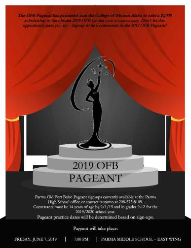OFBD pageant flyer 2019