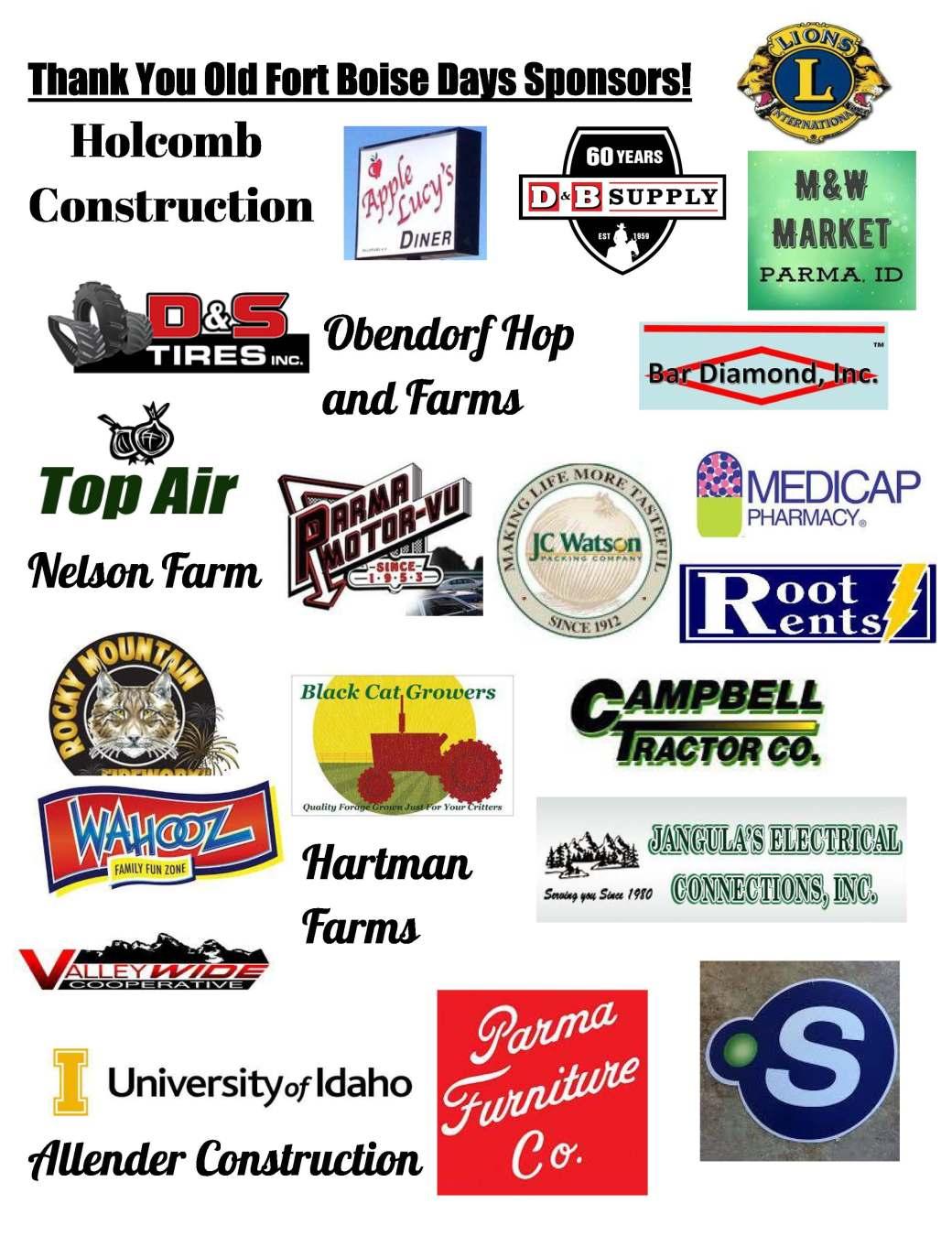OFBD sponsors